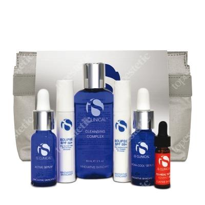 iS Clinical Clearing Kit ZESTAW podróżny czysta skóra 15 ml, 10 g, 60 ml, 10 g, 15 ml, 3,75 ml
