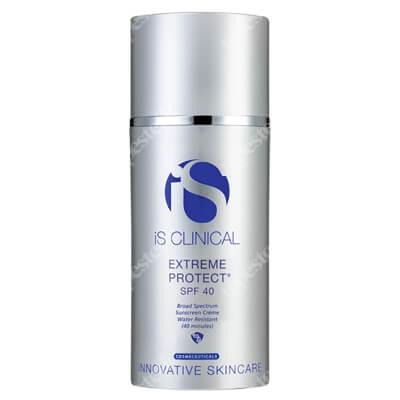 iS Clinical Extreme Protect Nawilżający krem z ochroną przeciwsłoneczną SPF 40 (kolor bezbarwny) 100 g
