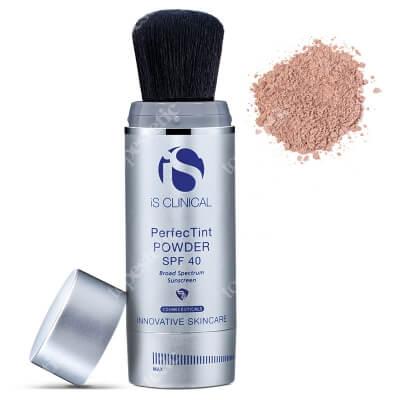 iS Clinical PerfecTint Powder SPF 40 Puder ochronny SPF 40 w pędzlu - kolor Beż 2 x 3,5 g