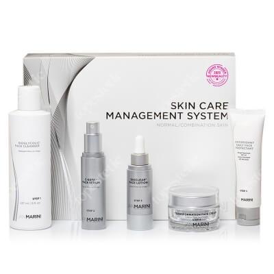 Jan Marini Skin Care Managment System ZESTAW Przeciwzmarszczkowy dla skóry normalnej i mieszanej 1 szt