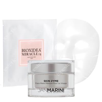 Jan Marini Zestaw Bankietowy ZESTAW Maska enzymatyczna 57 g + Maska na twarz nawilżająco - liftingująca 1 szt