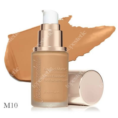 Jane Iredale Beyond Matte™ Liquid Foundation M10 Wielozadaniowy i długotrwały podkład ( medium to dark with gold/peach/brown undertones ) 27 ml