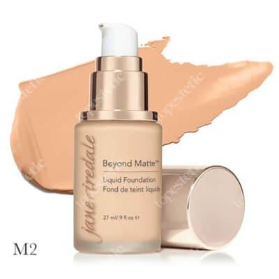 Jane Iredale Beyond Matte™ Liquid Foundation M2 Wielozadaniowy i długotrwały podkład ( fair to light with peach undertones ) 27 ml