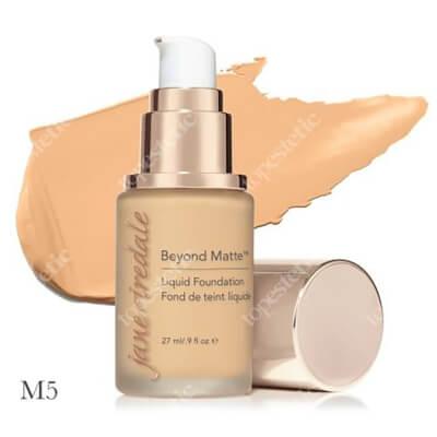 Jane Iredale Beyond Matte™ Liquid Foundation M5 Wielozadaniowy i długotrwały podkład ( light to medium with gold undertones ) 27 ml