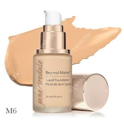 Jane Iredale Beyond Matte™ Liquid Foundation M6 Wielozadaniowy i długotrwały podkład ( medium with peach/gold undertones ) 27 ml