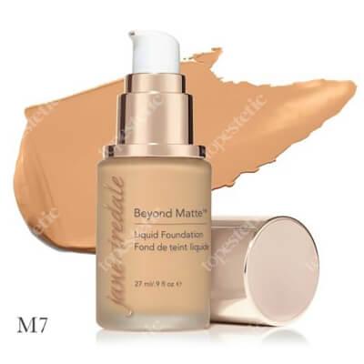 Jane Iredale Beyond Matte™ Liquid Foundation M7 Wielozadaniowy i długotrwały podkład ( medium with beige undertones ) 27 ml