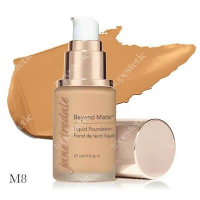Jane Iredale Beyond Matte™ Liquid Foundation M8 Wielozadaniowy i długotrwały podkład ( medium neutral ) 27 ml