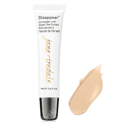 Jane Iredale Disappear Full Coverage Concealer Korektor mocno kryjący 12 g (kolor Light)