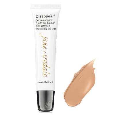 Jane Iredale Disappear Full Coverage Concealer Korektor mocno kryjący 12 g (kolor Medium Light)