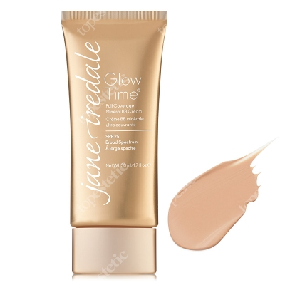 Jane Iredale Glow Time Full Coverage Mineral BB Cream Baza mineralna BB w formie kremu 50 ml (kolor BB5)