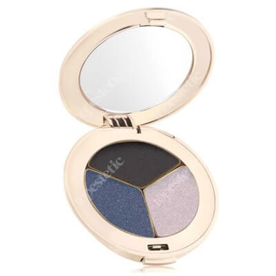 Jane Iredale Pure Pressed Eye Shadows Potrójne cienie do powiek 2,8 g (kolor Blue Hour)