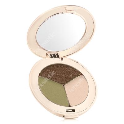 Jane Iredale Pure Pressed Eye Shadows Potrójne cienie do powiek 2,8 g (kolor Khaki Kraze)