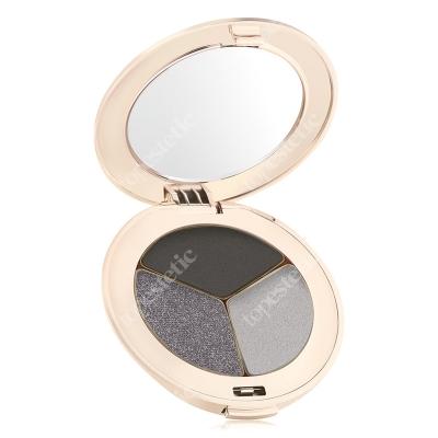 Jane Iredale Pure Pressed Eye Shadows Potrójne cienie do powiek 2,8 g (kolor Silver Lining)