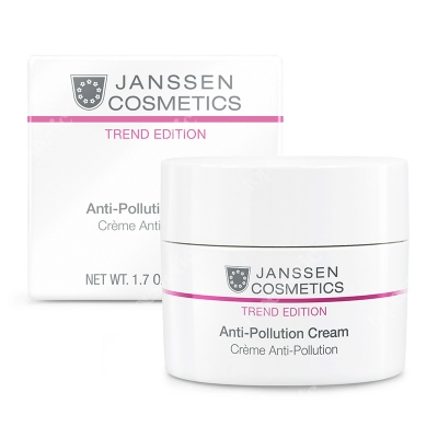 Janssen Cosmetics Anti-Pollution Cream Krem ochraniający skórę przed zanieczyszczeniami środowiskowymi 50 ml