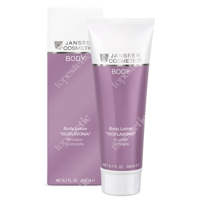 Janssen Cosmetics Body Lotion Isoflavonia Emulsja do ciała z izoflawonami 200 ml