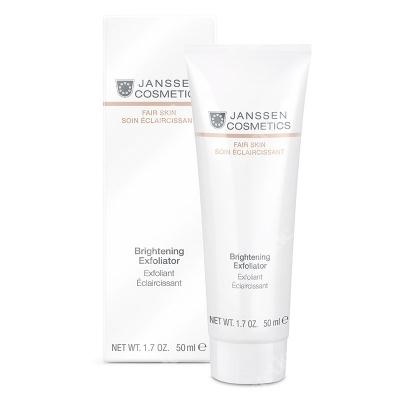 Janssen Cosmetics Brightening Exfoliator Peeling z kwasem glikolowym i cytrynowym 50 ml
