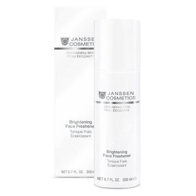 Janssen Cosmetics Brightening Face Freshener Bezalkoholowy tonik rozjaśniający 200 ml