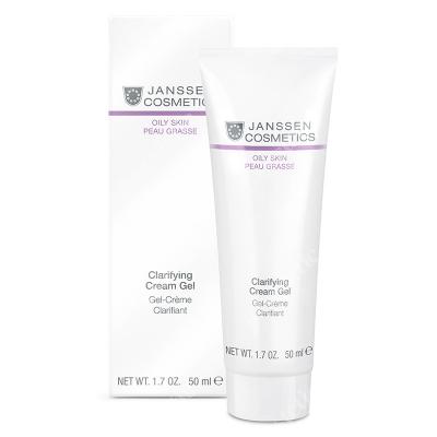 Janssen Cosmetics Clarifying Cream Gel Kremowy żel regulujący wydzielanie sebum 50 ml