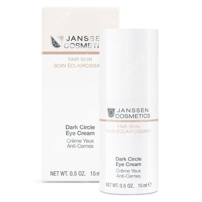 Janssen Cosmetics Dark Circle Eye Cream Krem pod oczy rozjaśniający cienie 15 ml