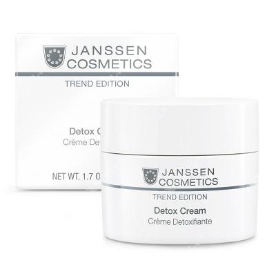 Janssen Cosmetics Detox Cream Wysoce efektywny krem wspierający system detoksykacji 50 ml