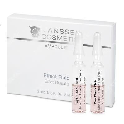 Janssen Cosmetics Eye Flash Fluid Ampułka rewitalizująca okolicę oczu 7x1,5 ml