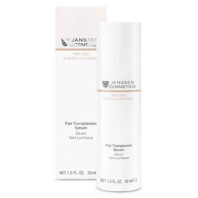 Janssen Cosmetics Fair Complexion Serum Aktywne serum anti-aging, rozjaśniające przebarwienia 30 ml