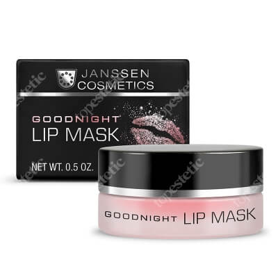 Janssen Cosmetics Goodnight Lip Mask Maska wygładzająca i wypełniająca usta 15 ml