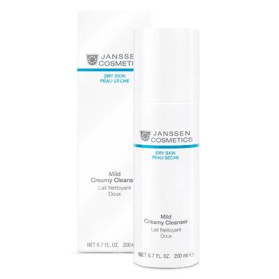 Janssen Cosmetics Mild Creamy Cleanser Delikatna emulsja oczyszczająca 200 ml