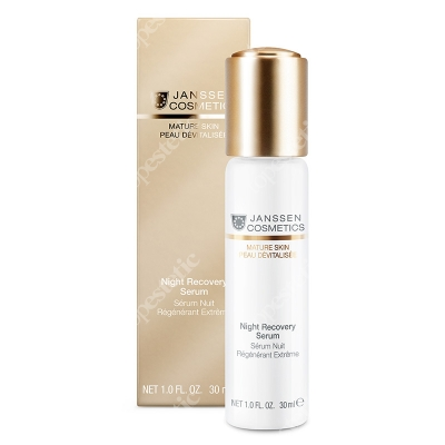 Janssen Cosmetics Night Recovery Serum Aktywne serum nocne z kompleksem CRC 30 ml