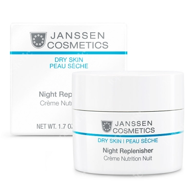 Janssen Cosmetics Night Replenisher Krem regenerujący na noc 50 ml