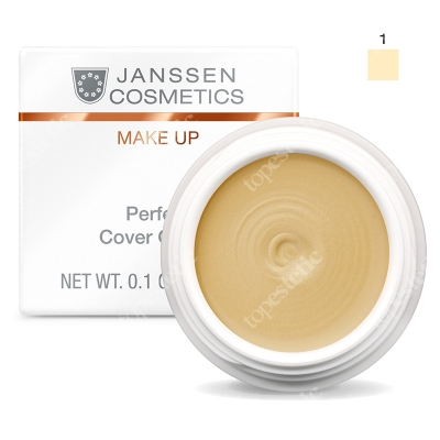 Janssen Cosmetics Perfect Cover Cream 01 Kamuflaż - korektor (kolor 01) 5 ml
