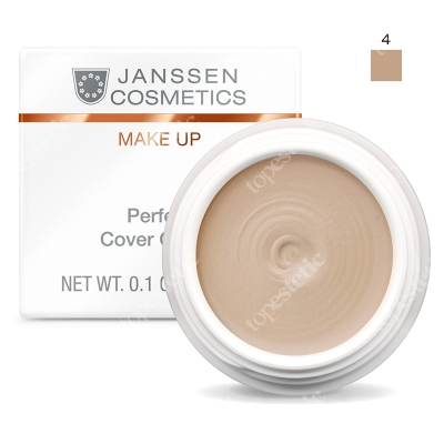 Janssen Cosmetics Perfect Cover Cream 04 Kamuflaż - korektor (kolor 04) 5 ml