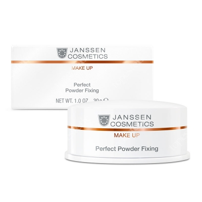 Janssen Cosmetics Perfect Powder Fixing Puder transparentny/utrwalający 30 g