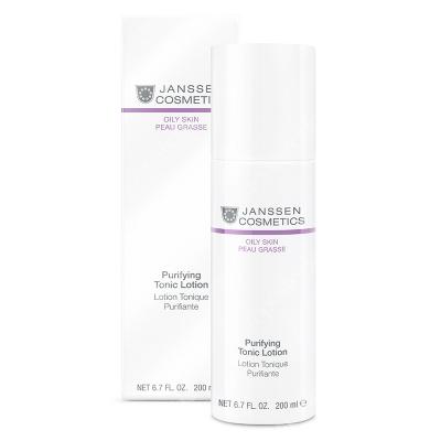 Janssen Cosmetics Purifying Tonic Lotion Bezalkoholowy tonik oczyszczający 200 ml