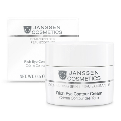 Janssen Cosmetics Rich Eye Contour Cream Odżywczy krem na okolicę oczu 15 ml