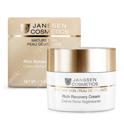 Janssen Cosmetics Rich Recovery Cream Krem regenerujący z kompleksem CRC 50 ml