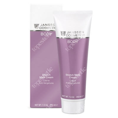 Janssen Cosmetics Stretch Mark Cream Krem na rozstępy 200 ml