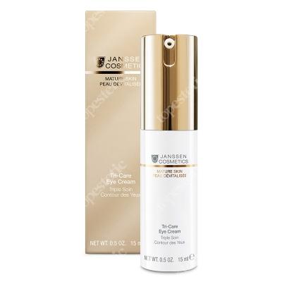 Janssen Cosmetics Tri-Care Eye Cream Wysoce efektywny krem do pielęgnacji okolicy oczu 15 ml