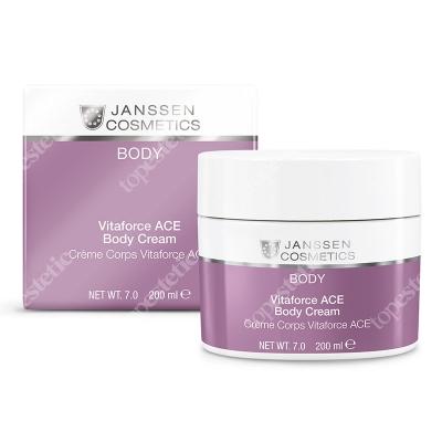 Janssen Cosmetics Vitaforce ACE Body Cream Odżywczy krem do ciała z witaminami A+C+E, 200 ml