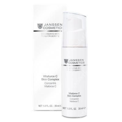 Janssen Cosmetics Vitaforce C Skin Complex Koncentrat ujędrniający skórę z witaminą C, 30 ml