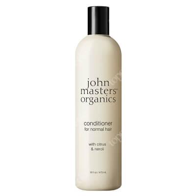 John Masters Organics Citrus & Neroli Conditioner for Normal Hair Cytrus i gorzka pomarańcza – odżywka do włosów normalnych 473 ml