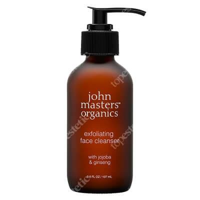 John Masters Organics Exfoliating Face Cleanser - Jojoba & Ginseng Piling do twarzy z jojobą i żeń-szeniem 107 ml