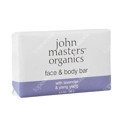 John Masters Organics Face And Body Bar With Lavender And Ylang Ylang Mydło z lawendą i ylang ylang 128 g