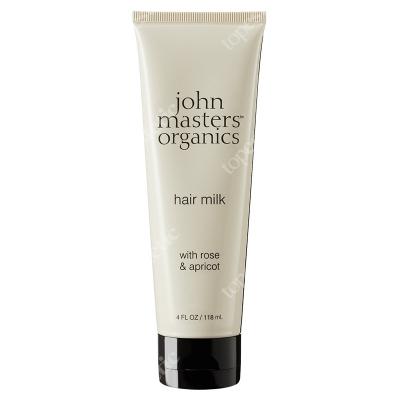John Masters Organics Hair Milk With Rose And Apricot Mleczko do włosów z różą i morelą 118 ml
