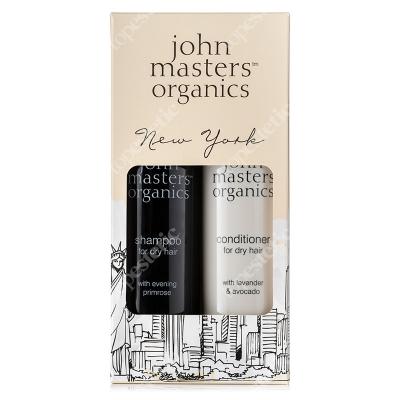 John Masters Organics New York Set - For Dry Hair ZESTAW Szampon do suchych włosów 236 ml + Intensywna odżywka 236 ml