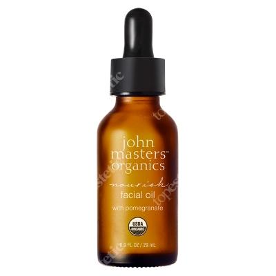 John Masters Organics Nourish Facial Oil With Pomegranate Odżywczy olejek do twarzy z granatem 29 ml