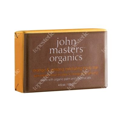 John Masters Organics Orange & Ginseng Exfoliating Body Bar Mydło złuszczające z pomarańczą i żeń-szeniem 128 g