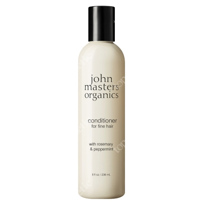 John Masters Organics Peppermint Rosemary Conditioner For Fine Hair Rozmaryn i mięta - odżywka do włosów cienkich 236 ml