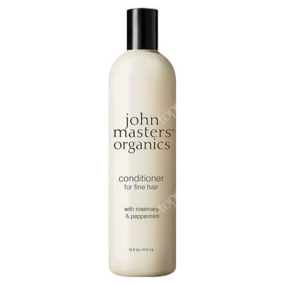 John Masters Organics Peppermint Rosemary Conditioner For Fine Hair Rozmaryn i mięta - odżywka do włosów cienkich 473 ml