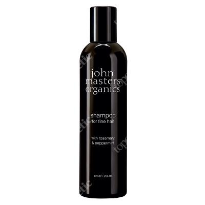 John Masters Organics Peppermint Rosemary Shampoo For Fine Hair Rozmaryn i mięta - szampon do włosów cienkich 236 ml